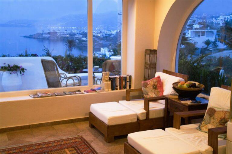 Living Room Villa Hurmuses, Mykonos, Greece. Website: Www.mykonosvilla.com